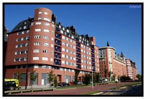 Edificio del barrio de Miriilla en Bilbao