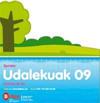 Cartel que anuncia las Colonias de Día 2009