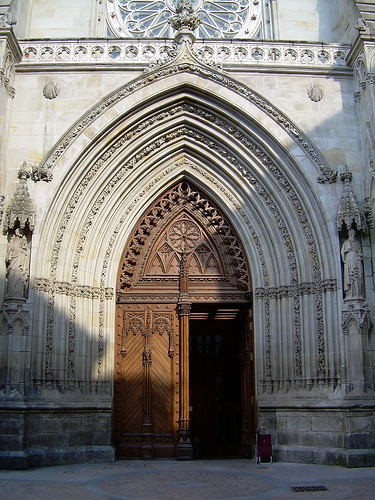Pórtico de la catedral de Santiago