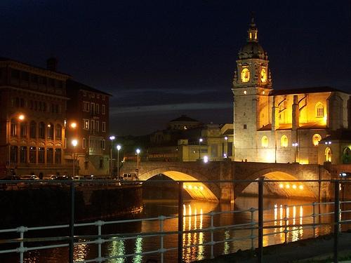 Iglesia y puente de San Antón