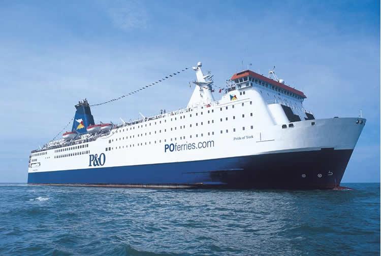 El ferry conocido como el Orgullo de Bilbao