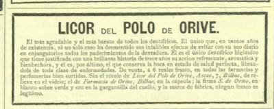 Anuncio licor del Polo