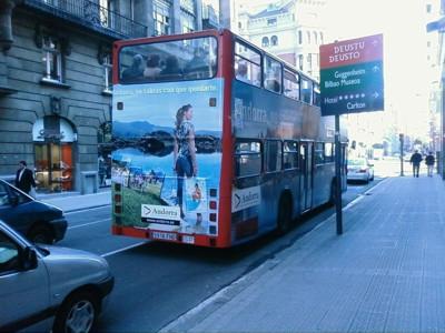 Bus turistico Bilbao