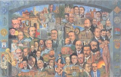 Mural Museo Historia de la Medicina