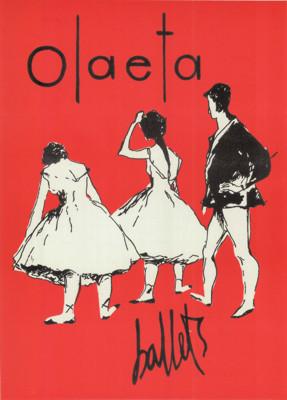 Afiche Ballets Olaeta