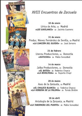 afiche zarzuela