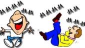 vista previa del artículo ¡A reírse que hace bien! Abando ofrece risoterapia