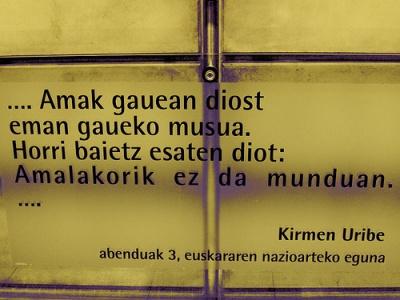 Algunas Palabras En Euskera