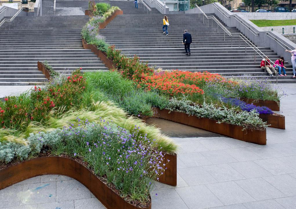 Bilbao jard n for Jardines de bilbao
