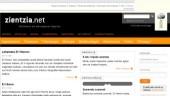 vista previa del artículo La web Zientzia.net se renueva