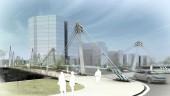 vista previa del artículo El Puente Frank Gehry ya une Deusto con Zorrotzaurre